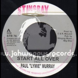 "Stingray Records-7""-Start All Over / Paul Murray"