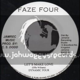 "Faze Four-7""-Lets Make Love / Dynamic Four"