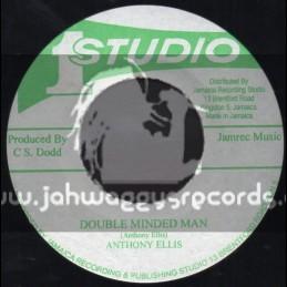 """Studio 1-7""""-Double Minded Man / Anthony Ellis"""