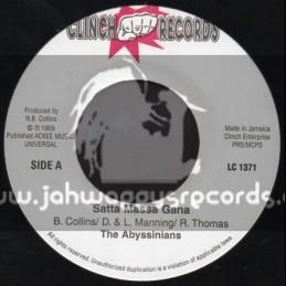 """Clinch Records-7""""-Satta Massa Gana / The Abyssinians"""
