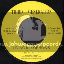 """Third Generation-7""""-Living In Sorrows / Micheal Anthony"""