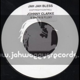 "Blank-7""-Jah Jah Bless / Johnny Clarke"