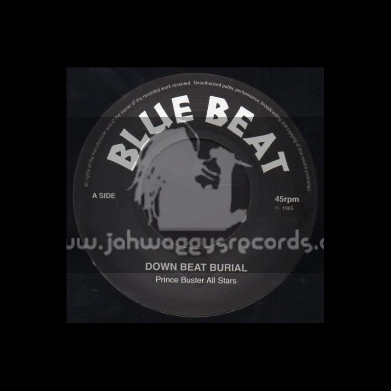 """Blue Beat-7""""-Down Beat Melody + Super Charge / Prince Buster All Stars"""