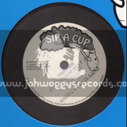 """Sip A Cup Records-10""""-Cant Keep I & I Down / Sandeeno"""
