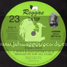 "Reggae On Top-10""-Rastafari Sons And Daughters / Barry Issac"