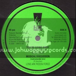 """A-Lone Productions-10""""-Your Going Away / Rod Taylor + Dont Use Me / Roberto Sanchez"""