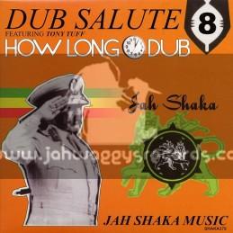 Jah Shaka Music-Lp-How Long Dub Feat.Tony Tuff-Dub Salule 8
