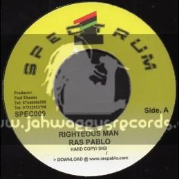 "Spectrum 1-7""-Righteous Man / Ras Pablo"
