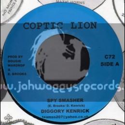 "Coptic Lion-7""-Spy Smasher / Diggory Kenrick"