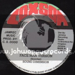 """Coxon-7""""-Why / Cosmo Bobienco + Face Man Version / Sound Dimension"""