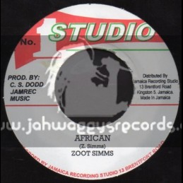 "Studio 1-7""-African / Zoot Simms + Popcorn Reggae / Soul Defenders"