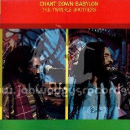 Twinkle Brothers-LP-Chant Down Babylon / The Twinkle Brothers