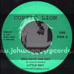 "Coptic Lion-7""-Dog Have Him Day / Little Roy"