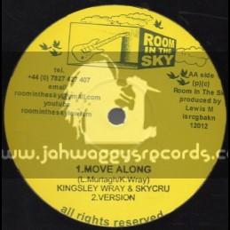 "Room In The Sky-12""-Move Along / Kingsley Wray Skycru"