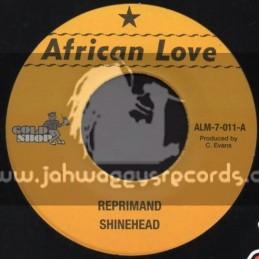 "African Love-7""-Reprimand / Shinehead"