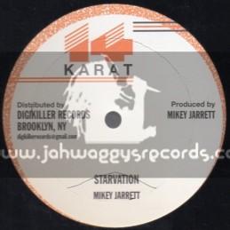 """14 Karat-12""""-Starvation / Mikey Jarrett"""