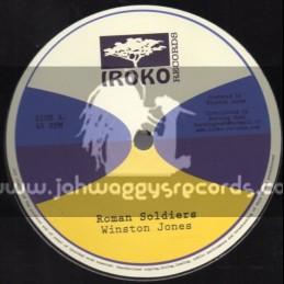 "Iroko Records-12""-Roman Soldiers / Winston Jones"