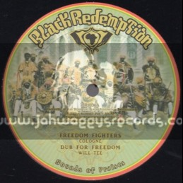 """Black Redemption-10""""-Freedom Fighters / Cologne + Carry Jah Love / Turbulence"""