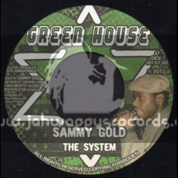 """Green House-7""""-The System / Sammy Gold"""