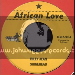 """African Love-7""""-Billy Jean + Mama Used To Say / Shinehead"""