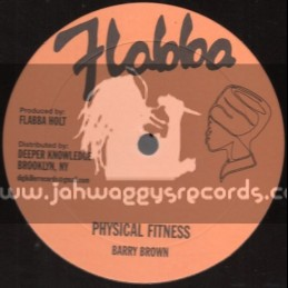 "Flabba-12""-Physical Fitness / Barry Brown"