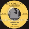 """Sir Collins-7""""-Story Of Love + Holy Mountain / Invaders"""