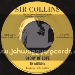 "Sir Collins-7""-Story Of Love + Holy Mountain / Invaders"