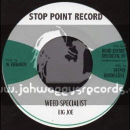 """Stop Point Record-7""""-Weed Specialist / Big Joe"""