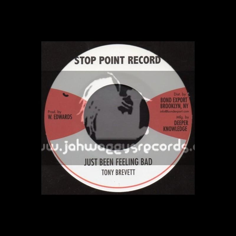 "Stop Point Record-7""-Just Been Feeling Bad / Tony Brevett"