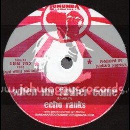 "Lumumba Records-7""-When My Father Come / Echo Ranks + World Crisis / Earl  16"