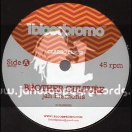 """1 Blood Promo-7""""-Jah Elements / Brother Culture"""