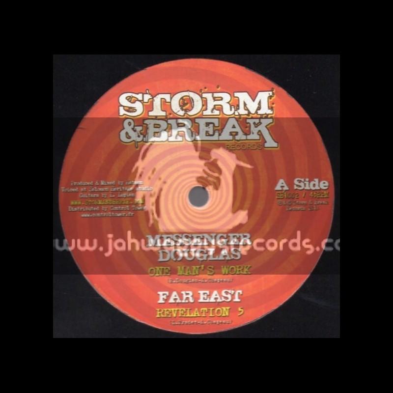 "Storm & Break Records-10""-One Mans Work / Messenger Douglas (Hatman/Far East)"