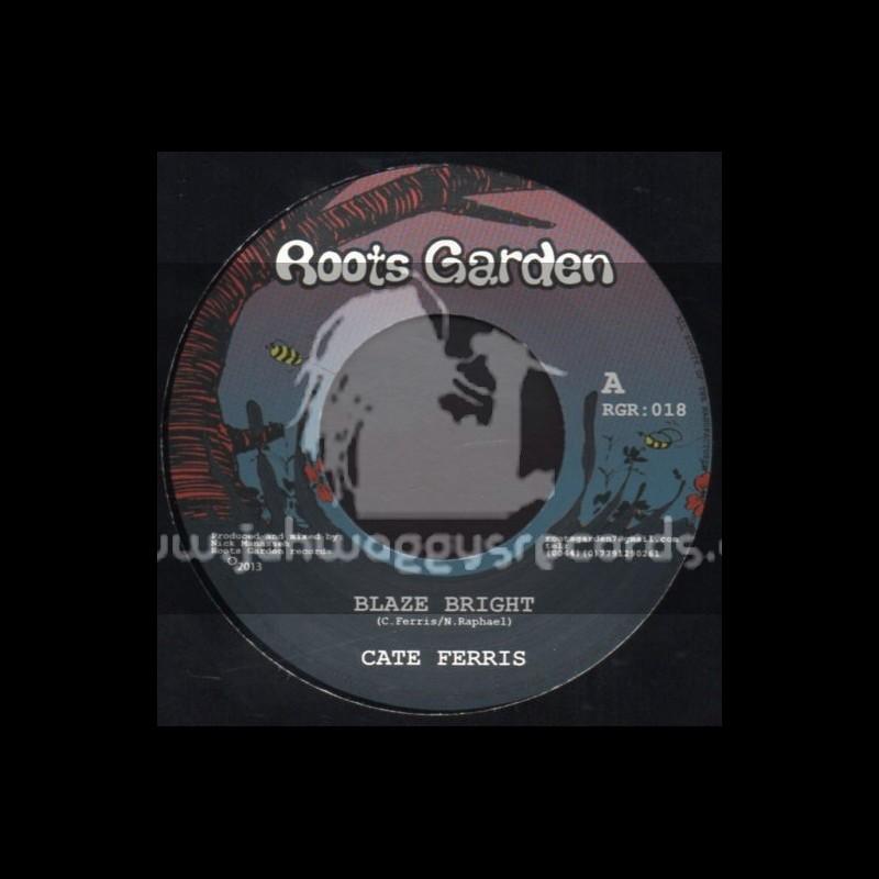 "Roots Garden-7""-Blaze Bright / Cate Ferris (Limited 300 Press)"