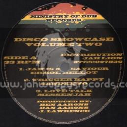 MOD Disco Showcase Vol 2 / Jah Is My Saviour / Errol Bellot
