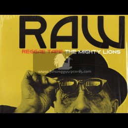 KA Records-Lp-Raw Reggae Tape / The Mighty Lions