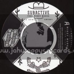 "Cubiculo Records-7""-Blam Blam / Subactive Feat.Mikey Murka"