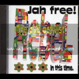 Jah Free Music-CD-The Dub Activist / Jah Free