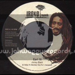 "Iroko Records-7""-Juicey Black / Earl 16"