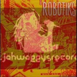 Ariwa-LP-Man And Machine / The Robotiks
