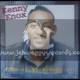 Pioneer International-LP-Ring My Number - 000 / Kenny Knox