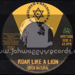 "Higher Regions Records-7""-Roar Like Lion / Idren Natural"