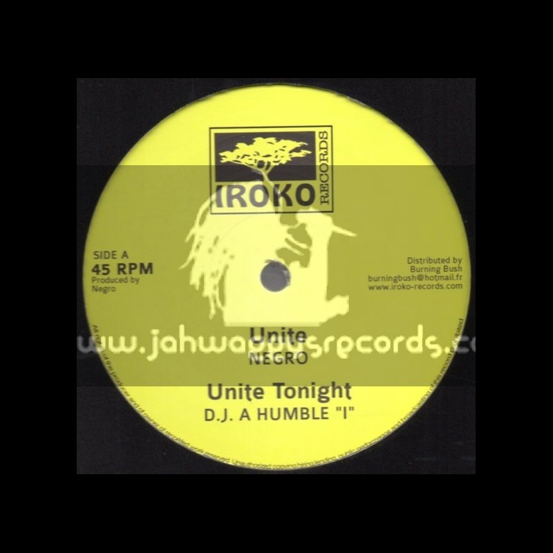 "Iroko Records-12""-Unite / Negro + Black Dragon / Sheer Gold"