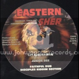"Eastern Sher-12""-Let Faith Arise + Love Is Universal / Junior Bee"
