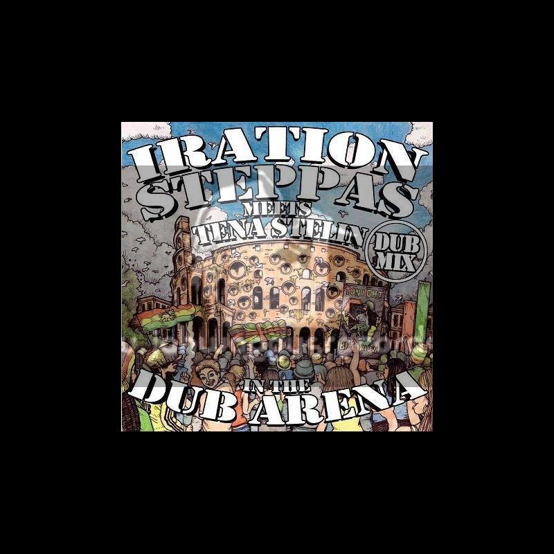 Iration Steppas Meets Tena Stelin In The Dub Arena-Lp-Dub Mix