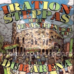 Iration Steppas Meets Tena Stelin In The Dub Arena-Lp-Vocal Mix