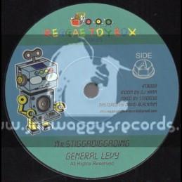 """Reggae Toy Box Records-7""""-Mr Stiggadiggading / General Levy"""