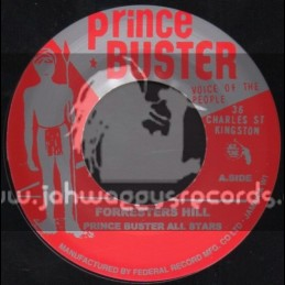 """Prince Buster-7""""-Forresters Hill + Fire Stick / Prince Buster All Stars"""