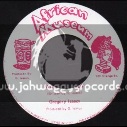 """African Museum-7""""-Wailing Rudy / Gregory Isaacs"""