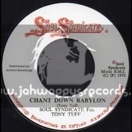 """Soul Syndicate-7""""-Chant Down Babylon / Tony Tuff"""