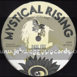"""Mystical Rising-12""""-Cry For Freedom / Paul Fox + Road To Zion / Mystical Rising"""